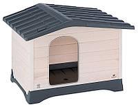 Ferplast DOG LODGE 70 Будка дерев'яна для собак, фото 1