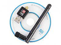 WiFi USB адаптер Ralink RT5370  Чорний