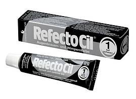 Краска для бровей и ресниц-черная 1 (15мл) Refectocil