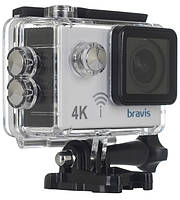 Экшн-камера BRAVIS A3 white