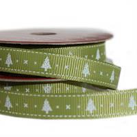 Лента текстильная Christmas Tree , 2м Dovecraft