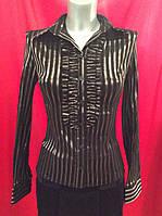 Рубашка женская в полоску Р60