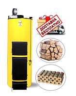 Твердотопливный котел длительного горения Буран NEW мощностью 10 кВт