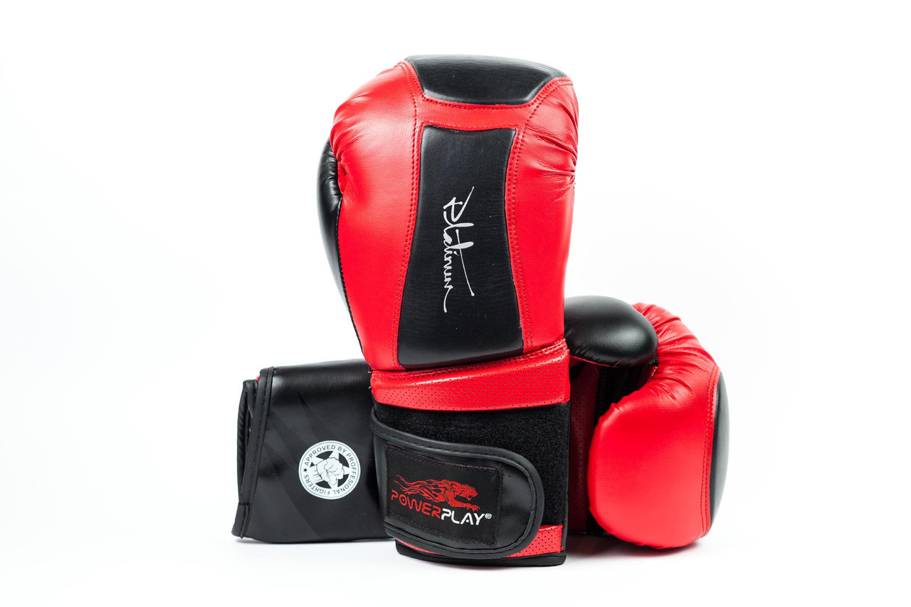 Боксерские перчатки  Platinum Series Red