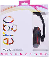 Наушники Ergo VD-290 Black, фото 1