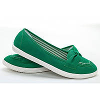Балетки GIPANIS зеленые