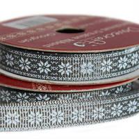 Лента текстильная Poinsettia , 2м Dovecraft
