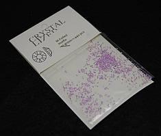 Камни Swarovski пиксели фиолетовые
