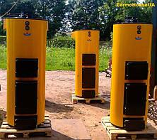 Дровяной двухконтурный котел Буран NEW мощностью 10 кВт, фото 3