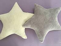 Декоративная подушка Звезда 44х44 молочный Barine