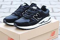 Мужские кроссовки New Balance 530 Encap,черные с белым  / кроссовки мужские Нью Беланс 530 Енкап, модные