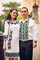 Заготовка для вишивки сукні  №83 Чарівна мить-1 (зелена)