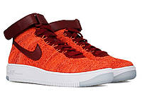 Женские кроссовки Nike Air Force 1 Ultra Flyknit Red