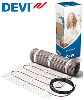 Мат нагревательный двужильный под плитку DEVIcomfort 5.0 м.кв 750 вт  (Дания)