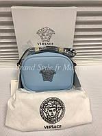Кожаная сумка Versace Версаче
