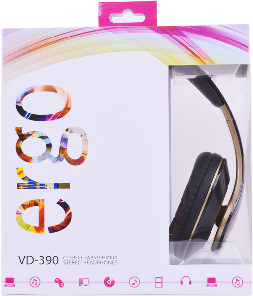 Наушники Ergo VD-390 Gold, фото 1