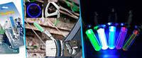 Подсветка  для Колес на сосок с камеры Авто, Мото, Вело. 5цветов  4шт  . в комплекте