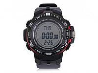 Чоловічі спортивні годинник фітнес-трекер  червоний
