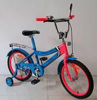 Детский двухколесный велосипед 18'' (171838) с зеркалом