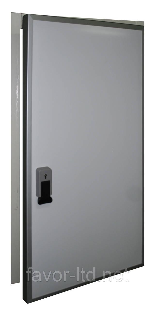 Распашные холодильные двери