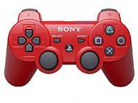 Ігровий джойстик Sony PS3 Dualshock 3 Sixaxis  червоний
