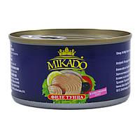 Филе тунца Mikado в собственном соку ж/б 140г