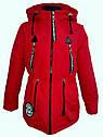 Детская демисезонная куртка парка Ариша на девочку на холлофайбере Размеры 34 36, фото 7