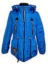 Детская демисезонная куртка парка Ариша на девочку на холлофайбере Размеры 34 36, фото 5