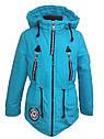 Детская демисезонная куртка парка Ариша на девочку на холлофайбере Размеры 34 36, фото 6