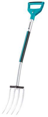 Вилочная лопата Gardena Terraline с D-образной рукояткой
