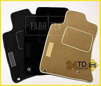 Ворсовые коврики Ford Focus II (2005-2011), Полный комплект, (хорошее качество), Форд Фокус