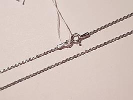 Срібний ланцюжок (Джгутик). Артикул 802Р0/ 40