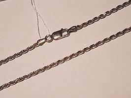 Серебряная цепочка (Жгутик). Артикул 802Р1/ 40