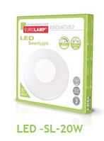 Cветодиодный светильник EUROLAMP SMART LIGHT 20W dimmable 3000-6500K