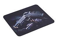Килимок для миші New Gun Анти-ковзання  чорний