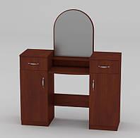 Стильная и удобная мебель для спальни. Функциональное трюмо фабрики Компанит, модель Трюмо-2