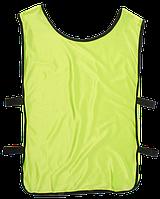 Манишка тренировочная, салатовая, ф4561