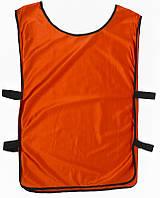 Манишка тренировочная, темно-красная, ф4562