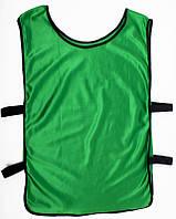 Манишка тренировочная, зеленая, ф4563