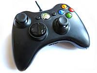 Геймпад для ігрової платформи Xbox 360 Microsoft провідний чорний