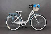 Женский велосипед городской Goetze (+ корзина) 1 передача