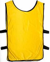 Манишка тренировочная, желтая, ф4563