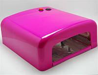 УФ Лампа для сушки 36W YRE (фиолетовая фуксия)