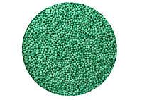 Посыпка для кондитерских изделий Нонпарель шарики / бирюзова / сладкая / декоративная 1 мм 1 кг.