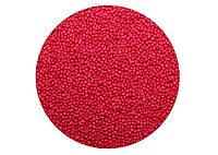 Посыпка для кондитерских изделий Нонпарель шарики / вишневая / сладкая / декоративная 1 мм 1 кг.