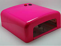 УФ Лампа для сушки 36W YRE (розовая фуксия)