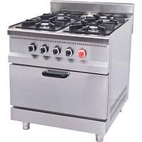Плита газовая с духовкой Pimak МО15-4