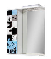 Зеркало для ванной 60-01 левое Авангард