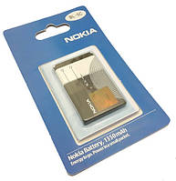 Аккумулятор батарея Nokia BL-5C 107 1100 1110, 1112, 1600, 1650, 1661, 2300, 2310, 2600, 2610 X2-02 High Copy
