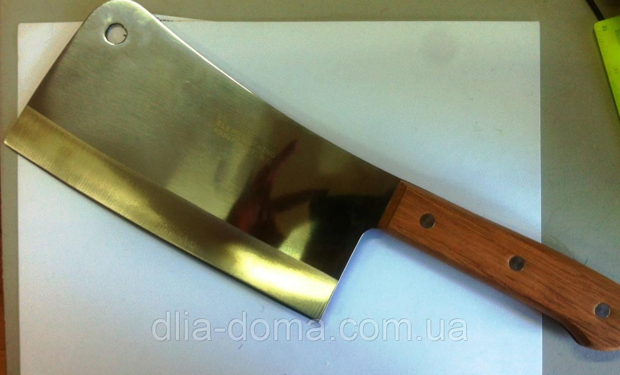Нож  секач с дерев. ручкой 9*20 см